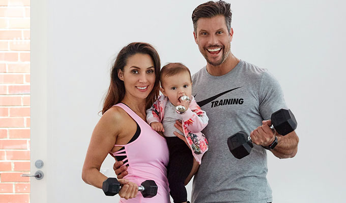 Sam Snex & Willow Wood - getting fit as a family